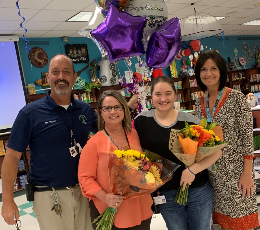 GES Teacher and Employee of the Year