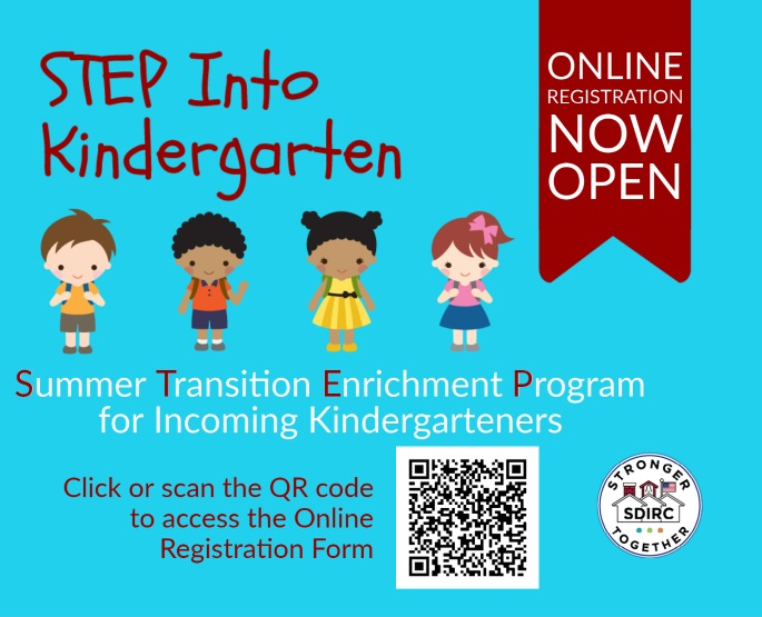 STEP into Kindergarten Registration